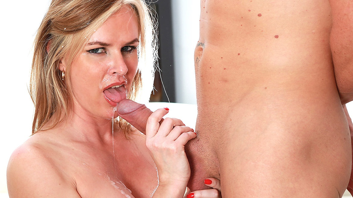 Cum facial shot trailer video