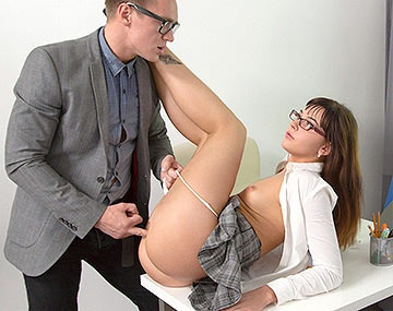 Private HD porn video: Teen Katty Blessed Gets a One to One With Her Tutor