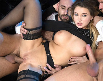 Private HD porn video: Perky Tit Anna Polina Gets Some Rough DP