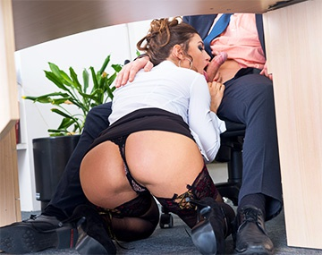 Private HD porn video: Julia Roca Has Her Hairy Pussy Pounded in the Office
