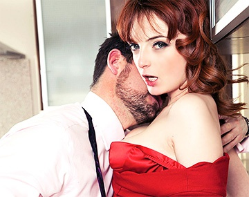 Private HD porn video: Housewife Lola Gatsby Drains Cum in the Kitchen