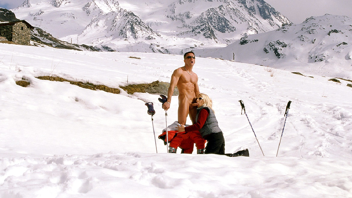 Gina Blonde, Anal in the Snow