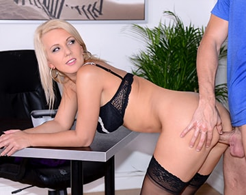 Private HD porn video: MILF Secretary Luci Angel Fucks Hard