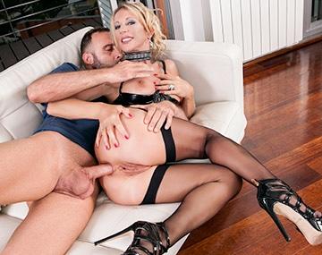Private HD porn video: MILF Marina Beaulieu Enjoys Anal While Her Husband Watches