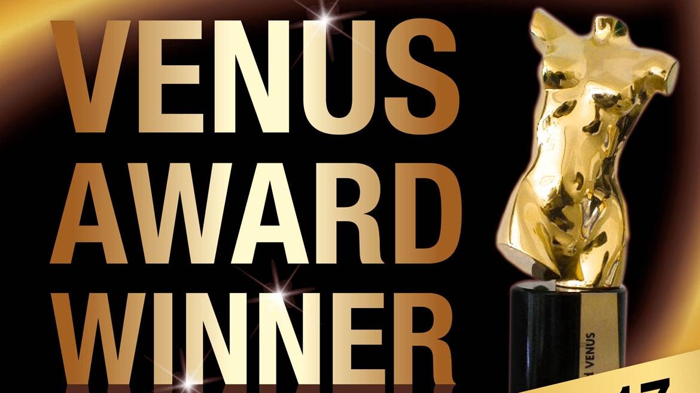 Best International Label at Venus Awards 2017