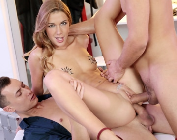 Private HD porn video: Alexis Crystal Takes Hardcore DP From Two Big Cocks